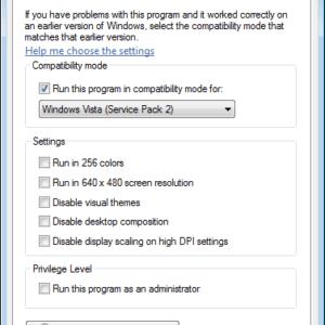 skype compatibility mode