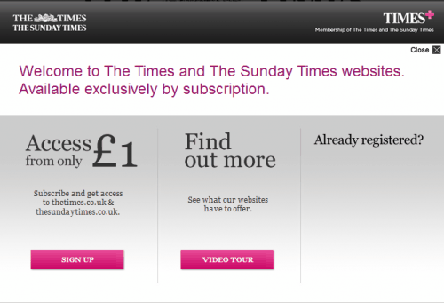 thetimes paywall