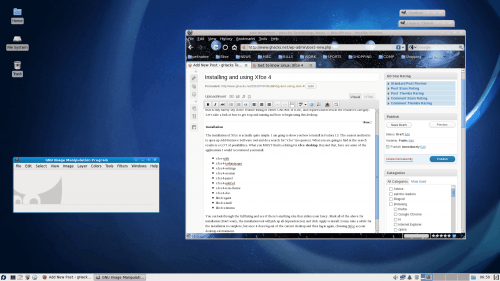 Installing and using Xfce 4