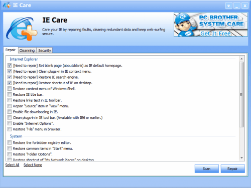 IE care