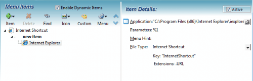 add custom items windows explorer