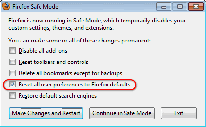 Reset Web Browsers To Factory Default Settings