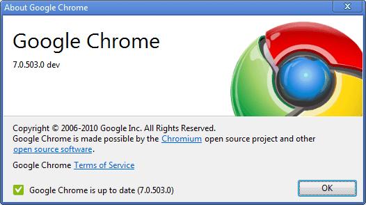 Google Chrome Dev Hits Version 7 - gHacks Tech News