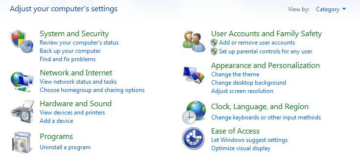 windows 7 disable homegroup
