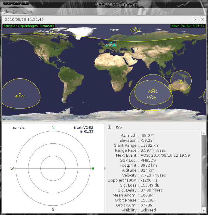 Track satellites with Gpredict - gHacks Tech News