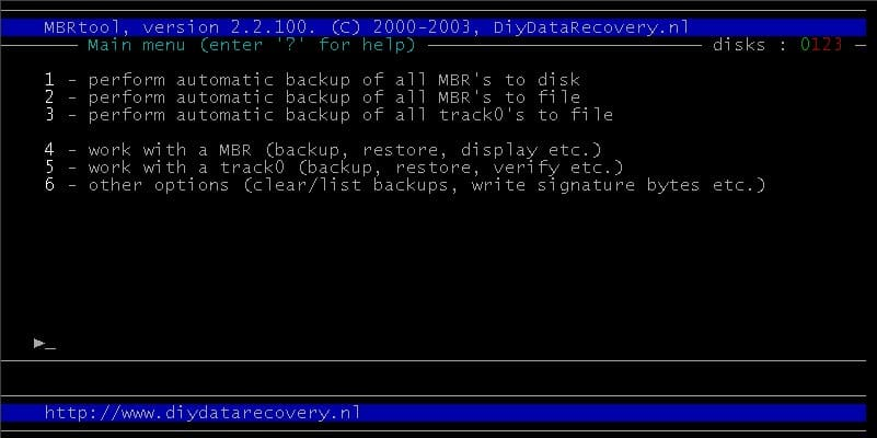 How To Backup And Restore The MBR In Windows - gHacks Tech News