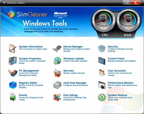 windows tools