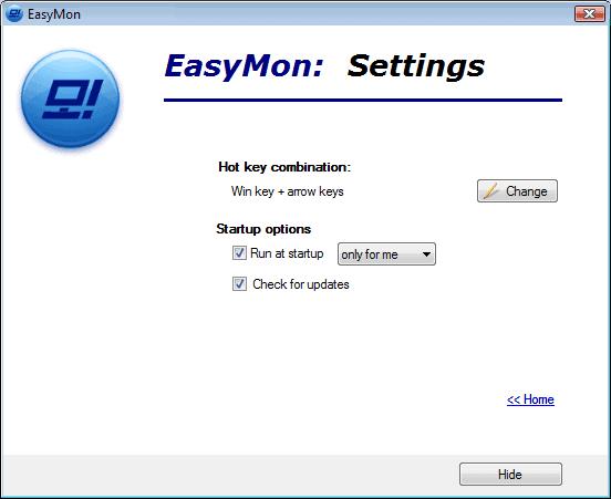 EasyMonSettings