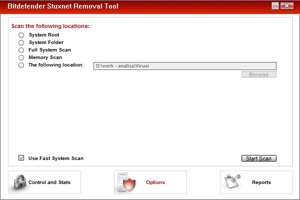 bitdefender stuxnet removal tool
