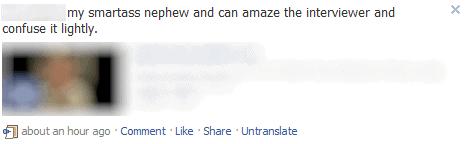 facebook translate google translate