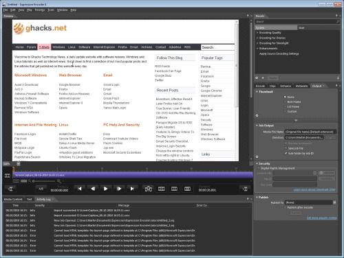 Microsoft expression encoder 4 screen capture key generator