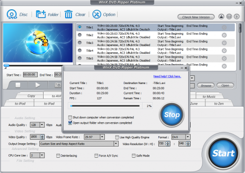 WinX DVD Ripper Platinum – Free License, New Version « WTI