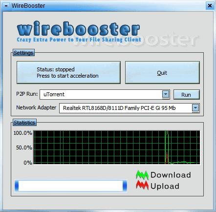 wirebooster p2p accelerator