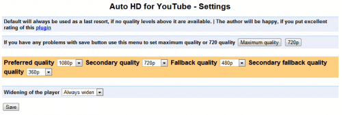 auto hd youtube