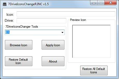 change drive icon