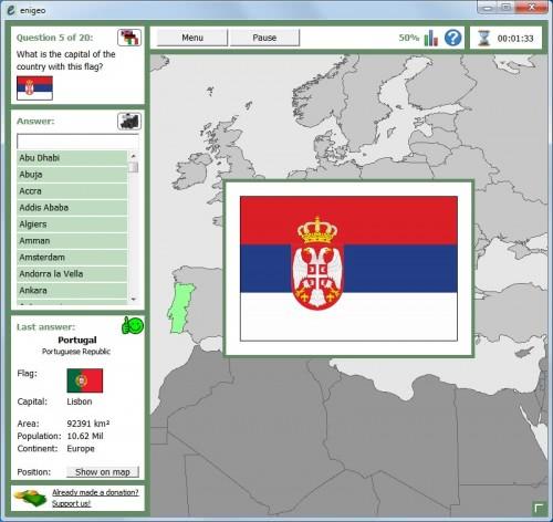 countries capitals flags quiz