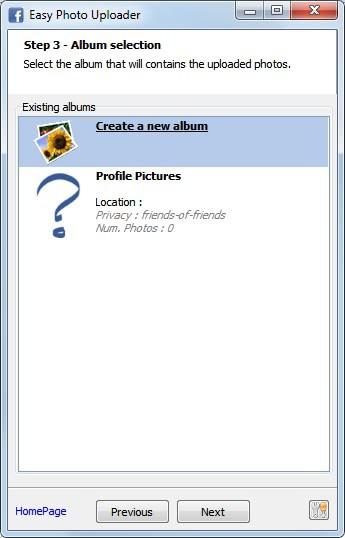 easy photo uploader