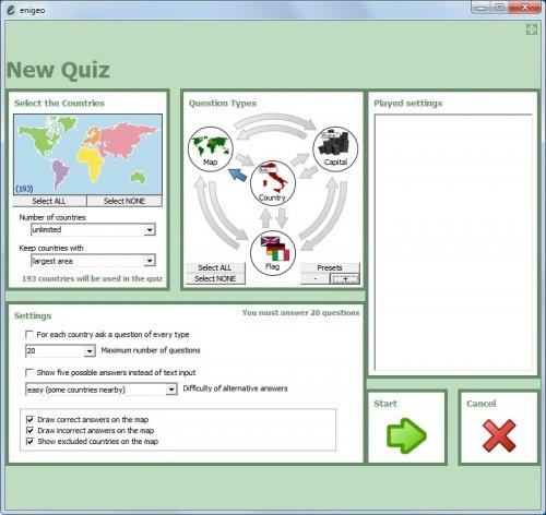 geographic quiz