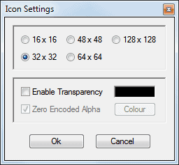 icon settings