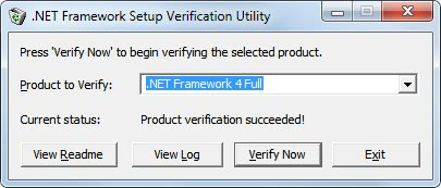 net framework troubleshoot