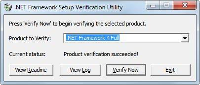 net framework troubleshoot
