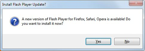new flash player version