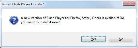 new flash player version