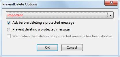 prevent delete