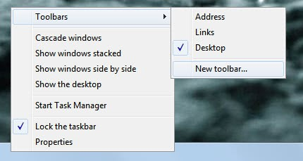 Quick Launch This Opens A File Browser Window Just Enter The Following Folder Path Into Field Of And Click Select Button