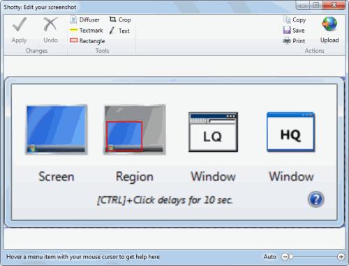 shotty screenshot software