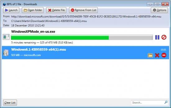 download manager tweak