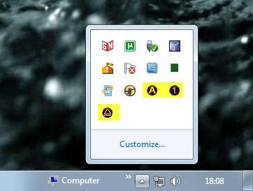 Keyboard Indicator, Display LED Key States On The Desktop