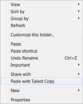 paste with talent copy