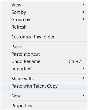 paste with talent copy
