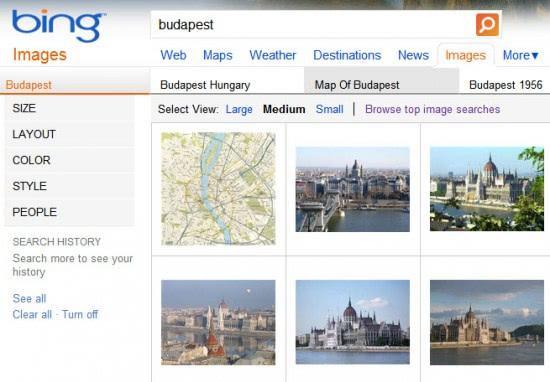 bin image search