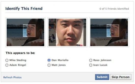 facebook identify this friend