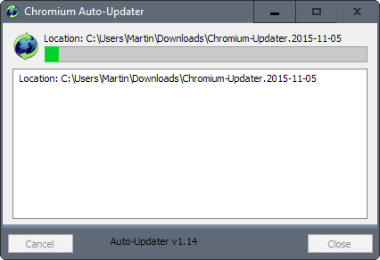 mulder chromium updater