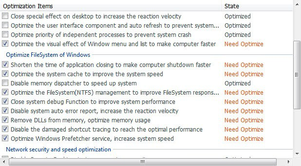 windows system optimizer