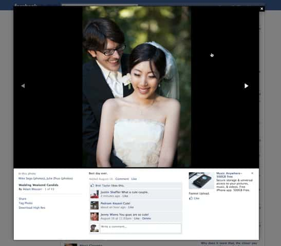facebook photo viewer