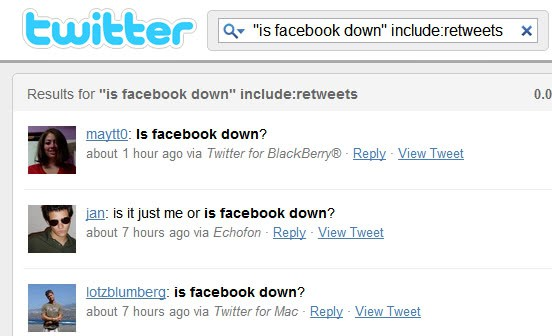 Is Facebook Down? Find Out Right Now! - gHacks Tech News