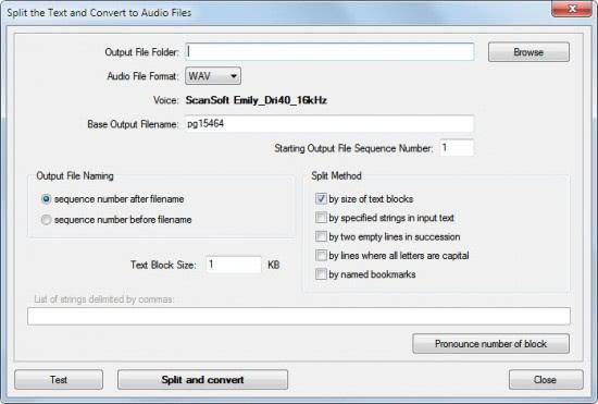 split audio files