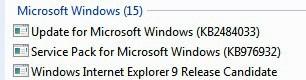 uninstall windows 7 sp1