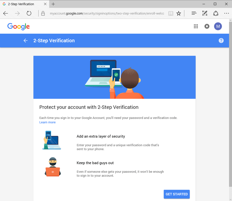 Enable Google 2-Step Verification Right Now, Even If It Is Not Available