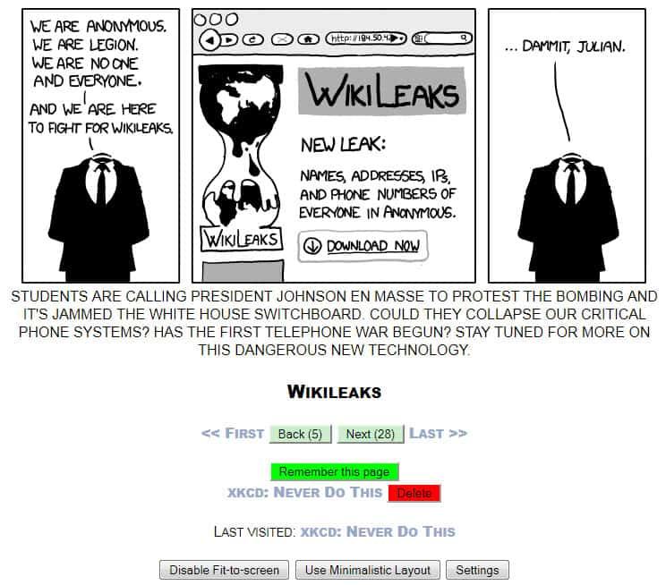 Webcomic Reader, Godsend For Comic Lovers - gHacks Tech News