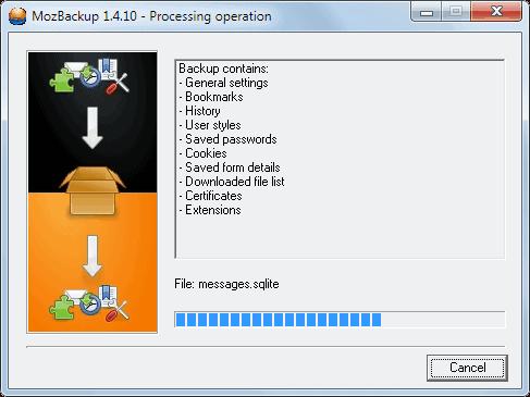 browser backup
