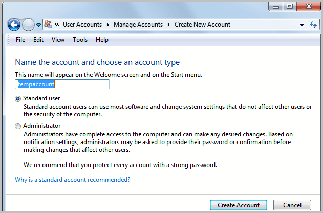 Account Name: How To Change A Windows Account Name And User Profile