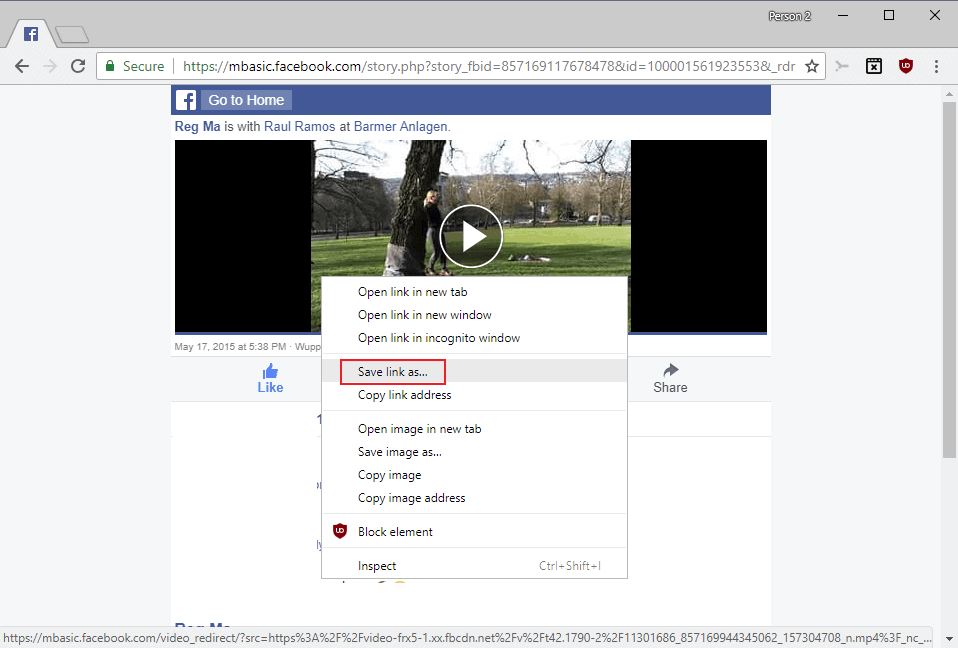 How To Download Facebook Videos Ghacks Tech News