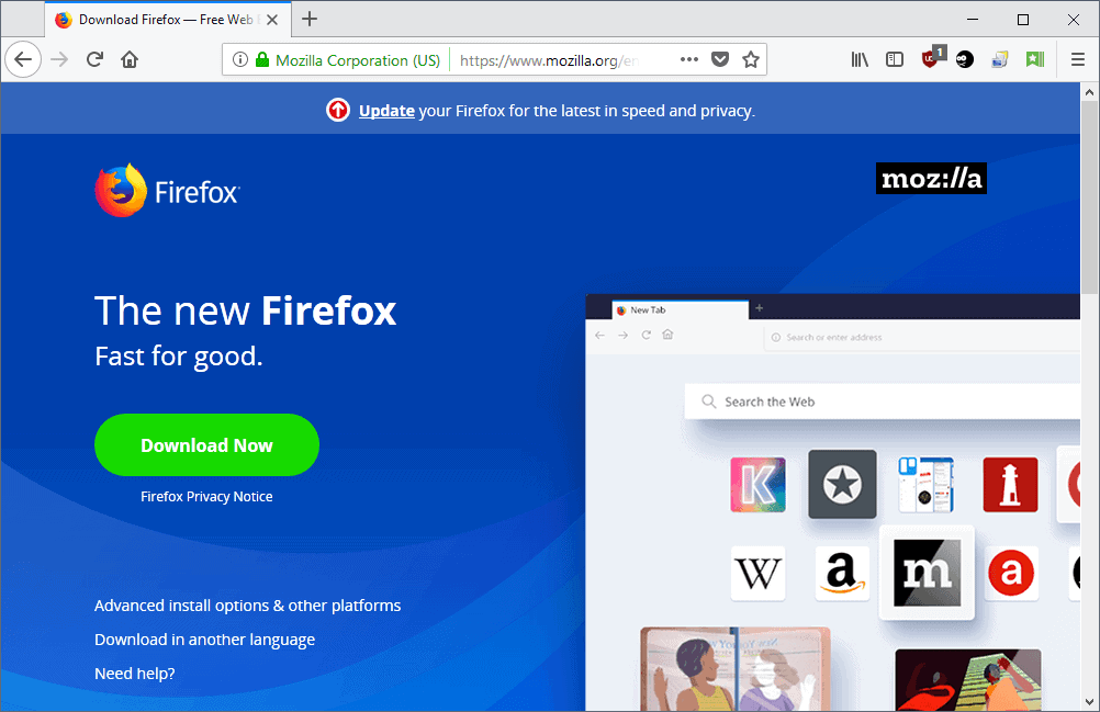 Firefox Download Guide: How To Download The Web Browser - gHacks