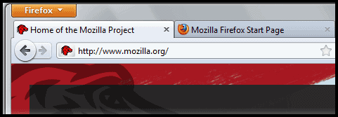 firefox interface