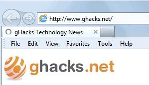 Can't Move Menubar In Internet Explorer 9 - gHacks Tech News